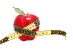 Diet numbers Royalty Free Stock Image