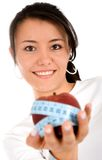 Diet and nutrition - girl with Stock Photography