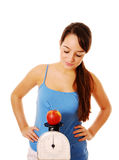 Diet obsessed Royalty Free Stock Photo