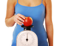 Diet obsessed Stock Images
