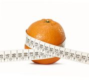 Diet orange. Royalty Free Stock Photos