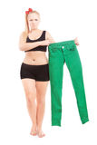 Diet and overweight concept Stock Photo