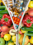 diet pigułki obraz stock