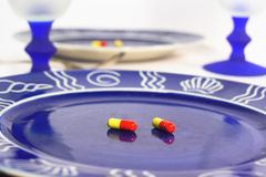 Diet pills Royalty Free Stock Photo
