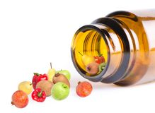 Diet pills Royalty Free Stock Images