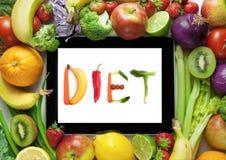 Diet plan Royalty Free Stock Photo