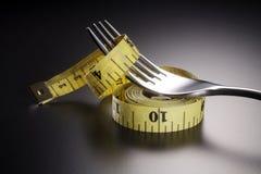 Diet plan Stock Photography