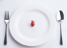 Diet plan! Royalty Free Stock Photos