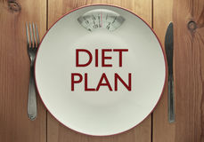 Diet plan Royalty Free Stock Photos