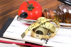 Diet planning Royalty Free Stock Photography