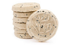 Diet rice cakes Stock Images