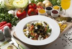 Diet salad Stock Photography
