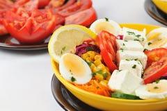 Diet salad details Stock Photo