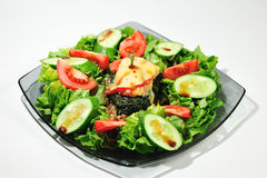 Diet fresh salad  Royalty Free Stock Image