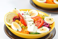 Diet salad food Stock Images