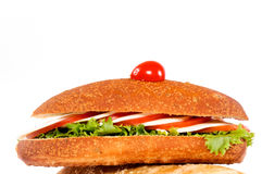Diet sandwich Royalty Free Stock Photography