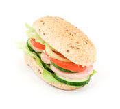 Diet sandwich Royalty Free Stock Photo