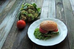 Diet sandwich Royalty Free Stock Photo