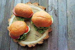 Diet sandwich Royalty Free Stock Image