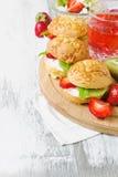 Diet sandwiches Stock Image
