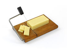 Diet Sharp Cheddar Cheese Royalty Free Stock Photos