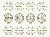Free Diet Stamps And Seals Stock Photo - 31400000