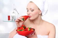 Diet strawberry Stock Image