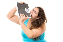Diet stress Royalty Free Stock Photo