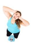 Diet stress Stock Photo