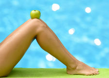 Diet summer concept royalty free stock photo