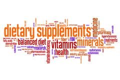 Diet supplements Royalty Free Stock Photography
