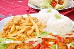 Diet surimi Stock Photos