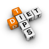 Diet Tips Stock Image