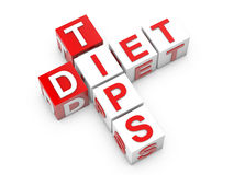 Diet Tips Royalty Free Stock Photos