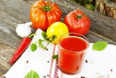 Diet tomato sauce Stock Image