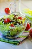 Diet vegetable salad Stock Photos