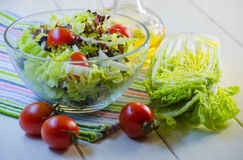 Diet vegetable salad Stock Photography