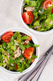 Diet vegetable salad Stock Photo