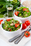 Diet vegetable salad Royalty Free Stock Photo