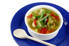 Diet vegetable soup Royalty Free Stock Image
