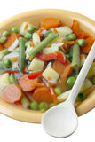 Diet vegetable soup. Stock Photo