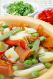 Diet vegetable soup. Royalty Free Stock Photos