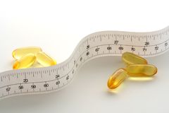 Diet vitamin Royalty Free Stock Images