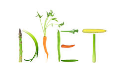 diet warzywa Zdjęcie Royalty Free