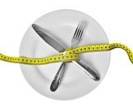 Diet - weight loss Stock Photo