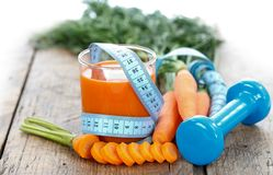 Diet With Vegetables Royalty Free Stock Photography