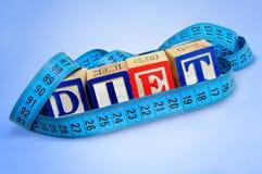 Diet word Stock Photos