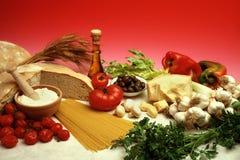 dieta śródziemnomorska zdjęcie stock