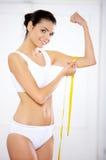 Dieta? Fotografia Stock Libera da Diritti