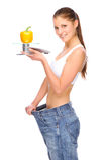 Dieta Foto de Stock